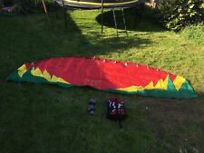 Flexifoil Rage 4.7m kite - complete with bag, lines, handles