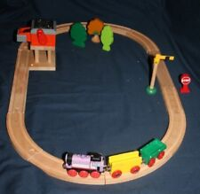 brio/wooden Thomas the Tank Engine train set with engine and Coal Loader