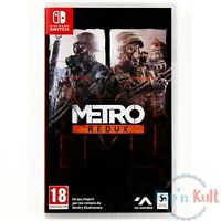 Jeu Metro : Redux [VF] sur Nintendo Switch NEUF sous Blister