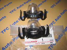 2 Toyota Pickup Truck 4Runner Rear License Plate Light Bulb Assemblys OEM New