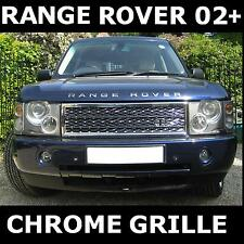 Chrome Turbo Calandre Avant Range Rover L322 Vogue 2002-05 Radiator Mesh