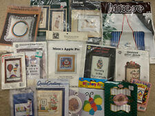 Lot  Of 15 Cross Stitch Kits ~ NEW ~ Free Ship