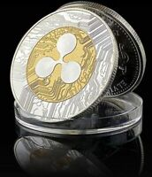 Ripple Coin XRP CRYPTO Commemorative XRP Cryptocurrency Collectors Coin Gift