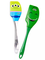 Disney Parks Toy Story Rex & Green Alien Silicone Baking Spatula Set of 2 - NEW