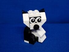 Lot of Lego Pieces: Built Panda Bear w/Moving Head -- Animal Figure