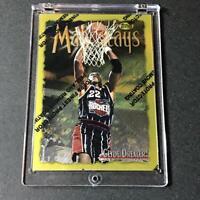 CLYDE DREXLER 1996 TOPPS FINEST #276 MAINSTAYS GOLD CARD W/ PEEL INTACT NBA HOF
