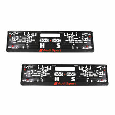 Audi license plate holder / license plate amplifier Audi Sport