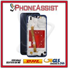 DISPLAY LCD VETRO TOUCH FRAME Per Huawei P20 Lite ANE-LX1 ANE-L21 SCHERMO Blu