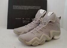 pretty nice a9188 44166 Mens adidas Crazy 8 ADV Primeknit Basketball Shoes SeasameWhite BY3603 KHK