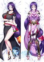 Fate Grand Order FGO Minamoto Raikou White Dress Version Dakimakura Pillow Cover