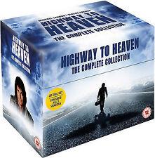 HIGHWAY TO HEAVEN COMPLETE DVD BOX SET SEASONS 1-5 SERIES 1-2-3-4-5 Dvd