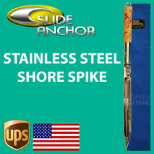 Slide Anchor SHORE SPIKE STAKE - STAINLESS STEEL Suits Boats up to 30 feet