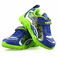 Boys Kids Teenage Mutant Ninja Turtles Casual Summer Sports Trainers Shoes Size