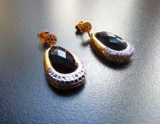 Onyx Modeschmuckstücke Messing-aus Stein