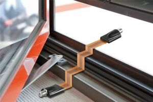 Plat Câble Coaxial à Travers Fenêtre Caravane Péniche Camping-Car Divers Options