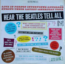 BEATLES - HEAR THE BEATLES TELL ALL - VEE JAY - 1979 LP - STILL SEALED