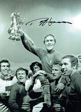 Ron Chopper HARRIS Signed Autograph Chelsea 16x12 Cup Winning Photo AFTAL COA