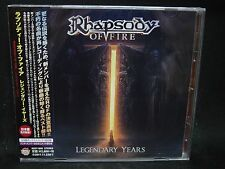 RHAPSODY OF FIRE Legendary Years + 1 JAPAN CD Thundercross Sour Whine Teodasia