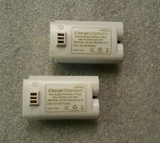 NYKO Nintendo Wii Battery Lot Of 2 For NYKO Charge Station