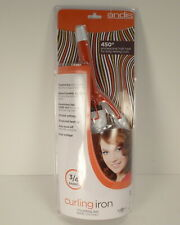 """Andis 3/4"""" Barrel Curling Hair Iron New"""