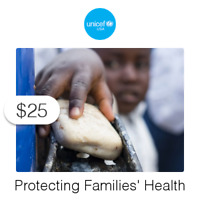 $25 Charitable Donation For: Protecting Families' Health & Hygiene