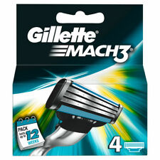 Recambios cuchilla de afeitar Gillette Mach 3 - 4 recambios para ellos