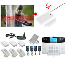 Wireless GSM SMS Home Burglar Security Family Alarm System Detector Sensor Call