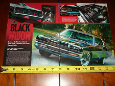 1969 MERCURY MARAUDER X-100 ***ORIGINAL 2007 ARTICLE***