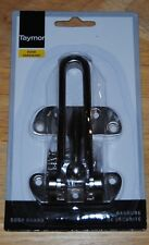 Door Hardware Door Guard Satin Nickel DOOR SECURITY LATCH