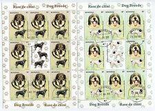Romania 2012 Dogs,Teckel,Golden Retriever,Shepherd,Perros,MS (8X sets),used CTO