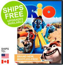 Rio (DVD, 2011) NEW, Sealed, Animated, Ice Age, Jesse Eisenberg, Anne Hathaway