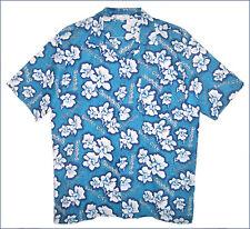 NEW men's HOLIDAY IN SINGAPORE Sinar Pagi Garden City flower print shirt - M
