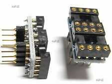 2PCS DIP to DIP Dual to Mono Opamp PCB Adapter OPA627BP