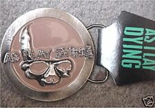 AS I LAY DYING SKULL LOGO METAL BELT BUCKLE NEW OFFICIAL FREE SHIP