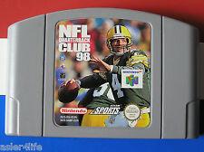 NFL QUARTERBACK CLUB 98 - NINTENDO 64 - N64