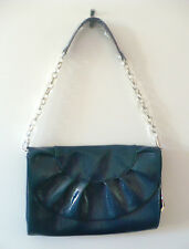 Baekgaard Deja VU Clutch Chateau Blue Patent Leather Retired