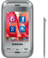 NEW SAMSUNG C3300 AT&T T-MOBILE UNLOCKED SILVER PHONE