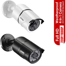 ZOSI HD 2MP 4in1 Outdoor Day Night 100ft IR Cut CCTV Bullet Security Camera