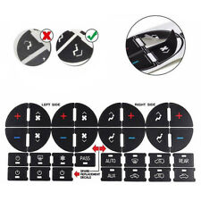 2PC AC Dash Button Repair Kit Decal Stickers Replacement for Chevrolet GMC Tahoe