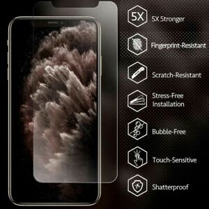 Tempered Glass Screen Protector iPhone 12,11 Pro Max Mini iPhone XR X XS MAX