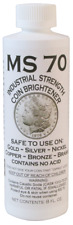 MS-70 Coin Brightener & Cleaner for Gold, Silver, Copper, Nickel, Bronze, Metals