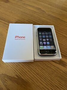 """RAREST ONE OF ALL"" Original Apple iPhone 1st Generation 2G-4GB, Apple Care Box"