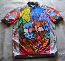 Audi Best Buddies Bears Vomax 3/4th Zip Cycling Jersey - Size Large / L