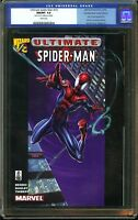 Ultimate Spider-Man #1/2 CGC 9.8 Certified Mail Order Edition MARK BAGLEY Cover