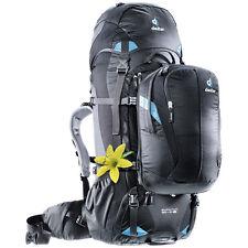 Deuter Quantum 60 + 10 SL Backpack (Black/Turquoise)