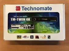 Technomate TM-Twin 4K Twin Tuner 4K UHD Full HD 1080p Satellite Receiver DVB-S2