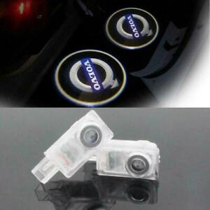 VOLVO Logo Car Door Led Welcome Light Laser Projector For XC60 XC90 S80 S60 2pcs