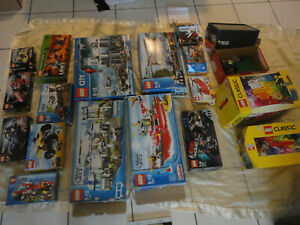 Lego kilo 12Kg VRAC 10705 10697 brique BOITE CITY LOT 4438 7207 7743 4439 60130
