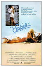 SPLASH Movie POSTER 27x40 B Tom Hanks Daryl Hannah Eugene Levy John Candy Dody
