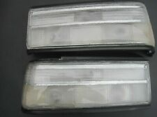 RARE HONDA CIVIC SH4 EF2 4 Door 90-91 SEDAN ALL CLEAR TAILLIGHT LENSES JDM